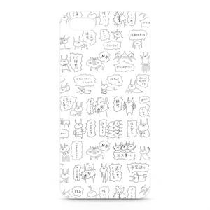 うさぎ帝国 iPhoneケース(シンプル)