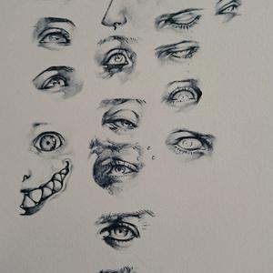 ペン+鉛筆画集