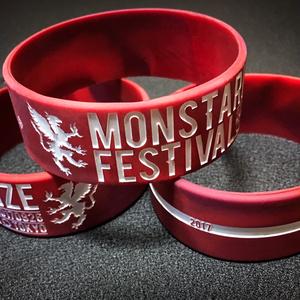 MONSTARIZE FESTIVAL2017 シリコンバンド