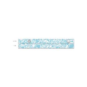 ガラス白青 長傘(0.58m)