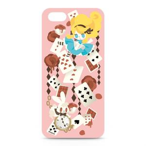 iPhone5ケース(アリス柄)