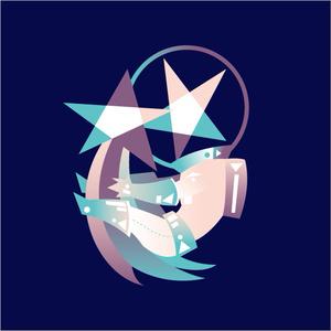 アリデくんの流れ星アクリルキーホルダー