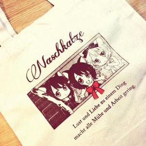 【goods】チョコにゃんこコットンバッグ