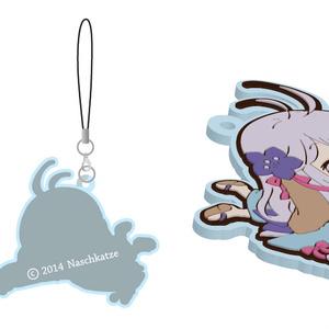 【goods】紫月クリアラバーストラップ