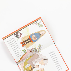 絵本「かみながのリコ」フランス語版 (対訳ペーパー付き)