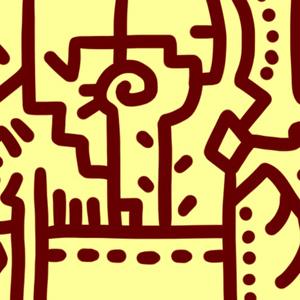 マスキングテープ『模様(黄色)』