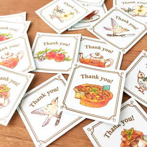"""Thank you seal """"Applepie""""【35枚入り】"""