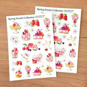 マスキングシール-Spring Sweets Collection