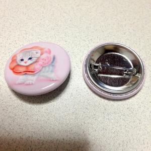 【雑貨】缶バッジ:ポンデニャイオン:さくらんぼ