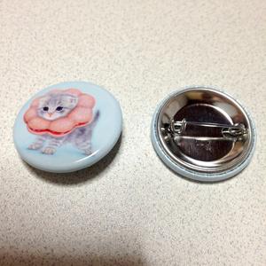 【雑貨】缶バッジ:ポンデニャイオン:さくらもち
