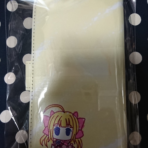 大森杏子ちゃん汎用手帳型スマホケースポップ