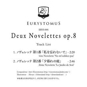 Deux Novelettes op.8