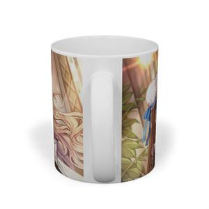 あさゆうレスノオト❀午後のお茶会マグカップ