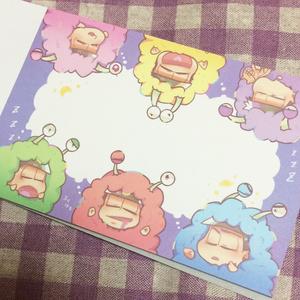 おやすみゲルゲメモ帳