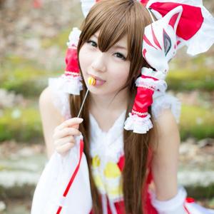 東方巫女桜(写真集のみ)
