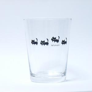 黒ネコ グラス