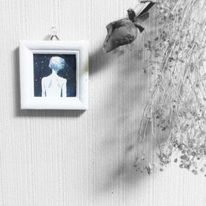 【ミニ原画】無音の銀河