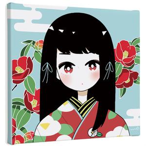 キャンバス「花姫」シリーズ
