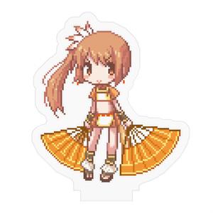 ドット鶴乃ちゃん ミニアクリルフィギュア