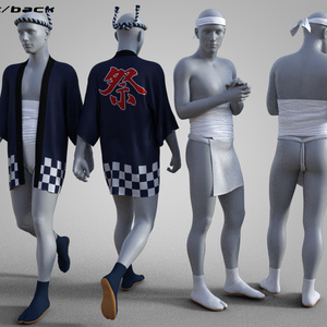 fundoshi outfit for G3M