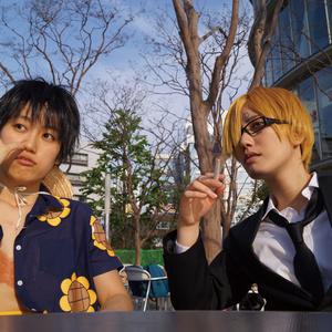 ONEPIECE ルフィ&サンジコスプレ写真集 「Luffy & Sanji」