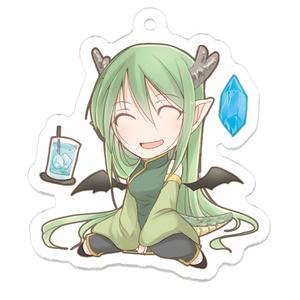 創作アクリルキーホルダー【竜っ子】