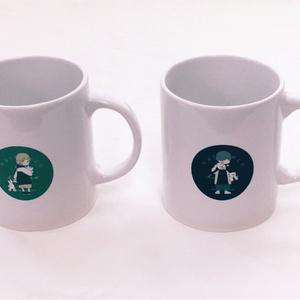 【NEW】少年少女マグカップ