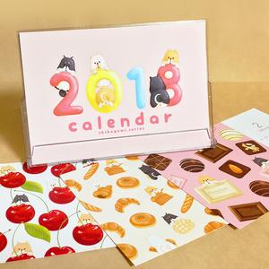 2018柴犬カレンダー【柴組】