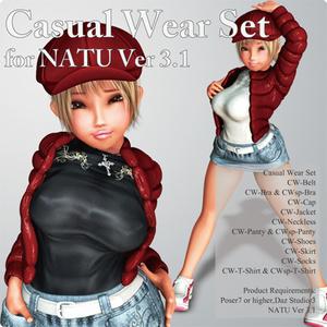 Casual Wear Set for Natu Ver 3.1
