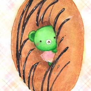 くまみちゃんとドーナツ