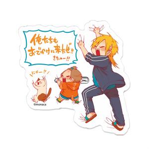 【受注生産】魔王様としゅんくん アクリルバッジ【7/31まで】