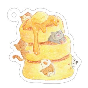 ホットケーキのアクリルキーホルダー