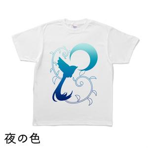 月草鳥Tシャツ(9種類・白生地)