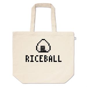 トートバッグL「RICE BALL (100TURN勇者)」