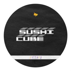 SUSHI CUBE  [type05] 助六(太巻き、蒸しエビ、サラダ巻、いなり)
