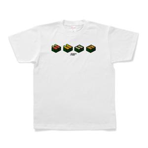 Tシャツ 「SUSHI CUBE [type02] / 軍艦4種」