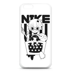 にけ iPhoneケース6 ブラック