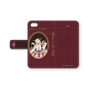 手帳型iPhoneケース【食卓の上のアリステア】