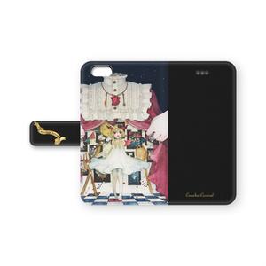手帳型iPhoneケース【額葬カーニヴァル】
