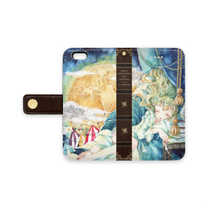 手帳型iPhoneケース【満ちる眠り】