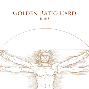 Golden Ratio Card