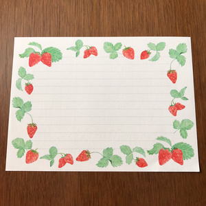 Letter Set Strawberry