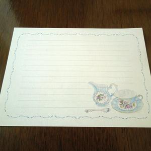Letter Set Tea time