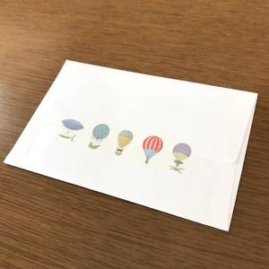 アンティーク気球のマスキングテープ