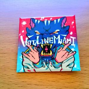 HOTLINE MIAMI缶バッジ