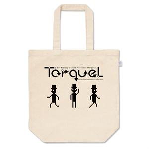 トルクル(TorqueL) ロゴ&キャラクター トートバッグ