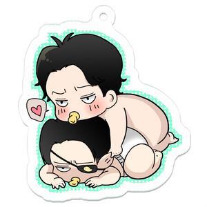 赤ちゃんが如く ほまれくんとごろうくん アクリルキーホルダー