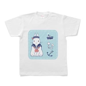 うさぎの水兵さんTシャツ