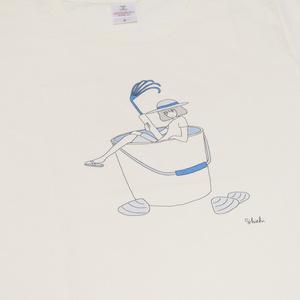 Tシャツ「貝掘り」