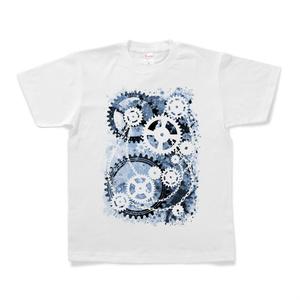 機械式-04青 [Tシャツ]